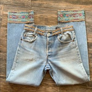 Levi's Vintage Buzz 18 Embellished Jeans